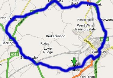 Rode-Dilton-Westbury-Yarnbrook-NorthBradley-Southwick-Rode