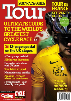Cover of the Tour De France Guide