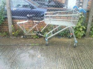 Forlorn bike remains - Oxford