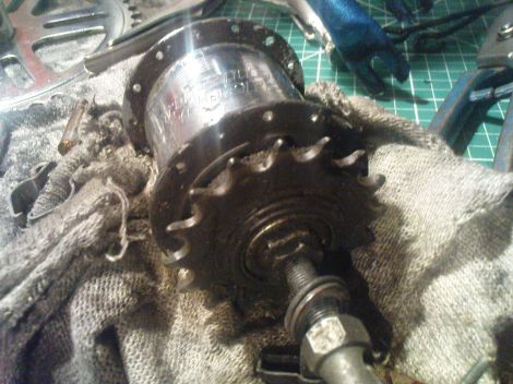 Shopper Sturmey Archer 3 Speed