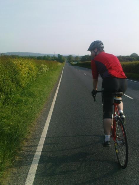 John on the straight road