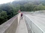 Crossing the viaduct - Limpley Stoke
