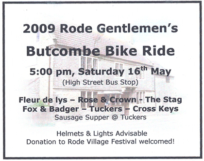 butcombe bike ride