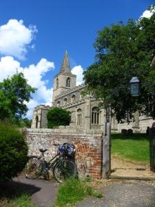 Rattlesden church