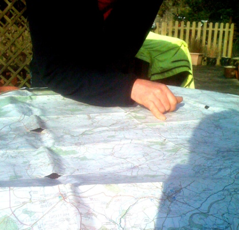 Planning the route home