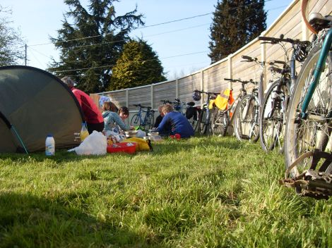 Cycle camp france