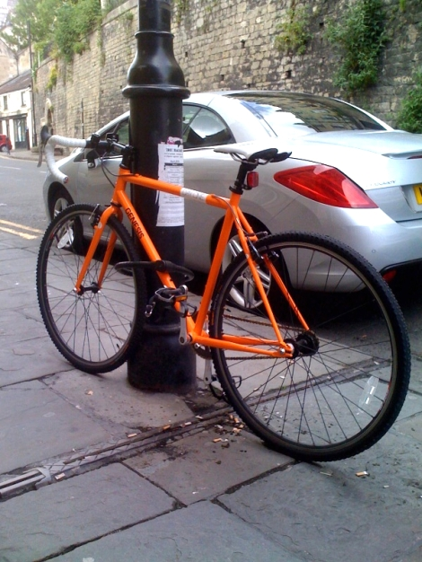 bicycle fixie in Bath