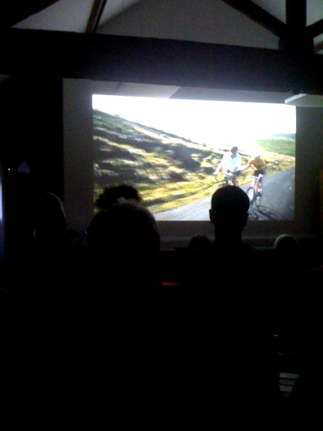 Old School Shorts bicycle film night
