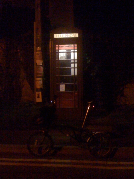 Brompton and Phone box