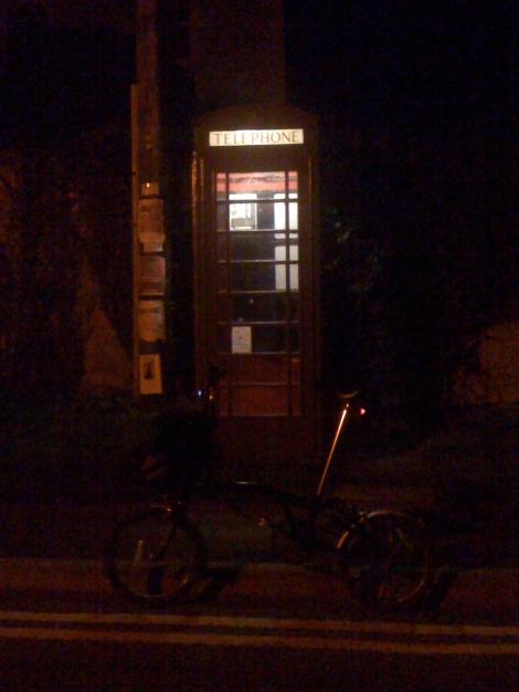 Brompton and Phone box