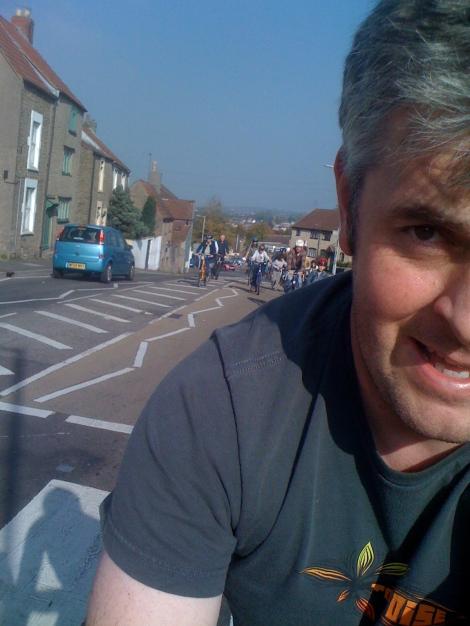 Frome 10:10 mass bike ride